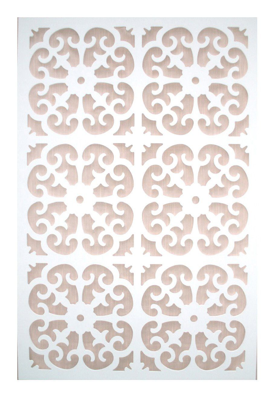 AmazonSmile : Acurio Roman White Vinyl Lattice Decorative Privacy Panel :  Panel Screens : Patio, Lawn U0026 Garden