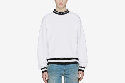 Logo Collar Sweater