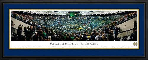 Notre Dame Fighting Irish Panoramic Picture Deluxe Matted Frame