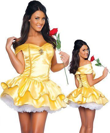 Sexy Fancy Cinderella Snow White Princess Fairy Costumes for Women