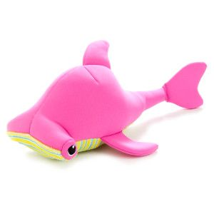 Martha Stewart Pets Floating Shark Squeaker Dog Toy Toys