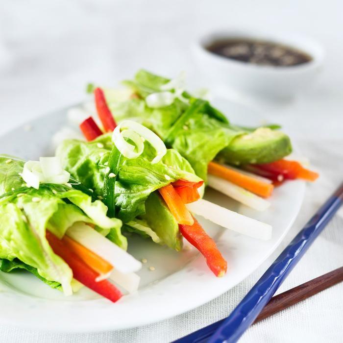 Aasialaiset salaattikääröt