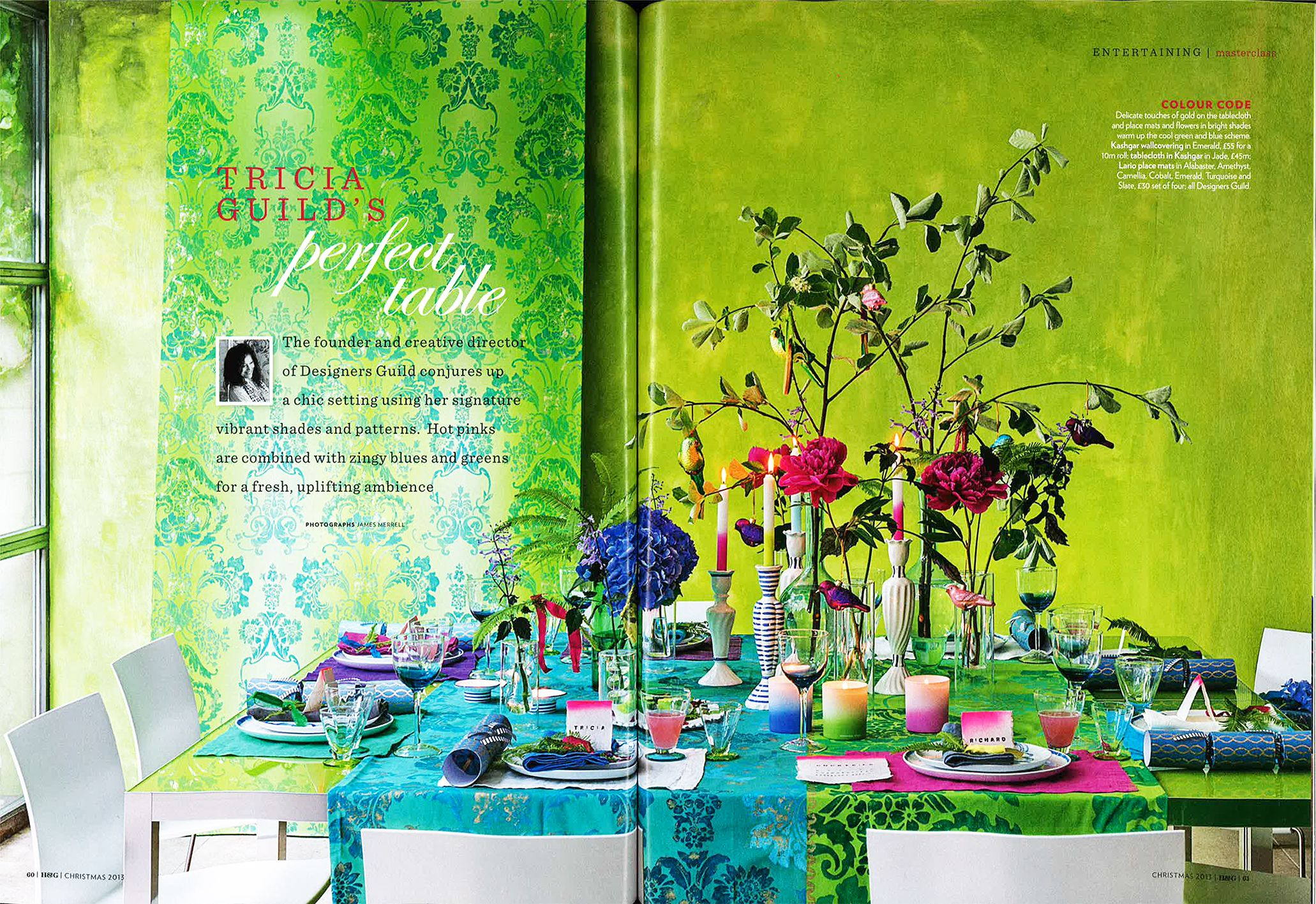 UK Homes & Gardens Christmas issue