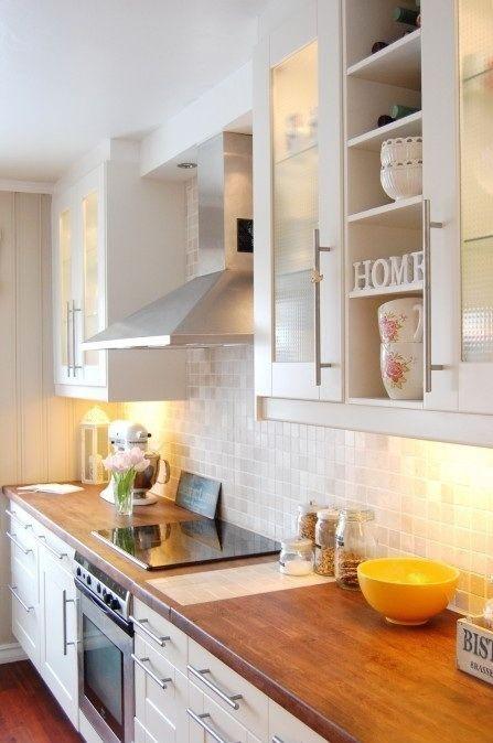 Por qué tener una mesada de madera en la cocina Madera, Cocinas y - muebles para cocina de madera