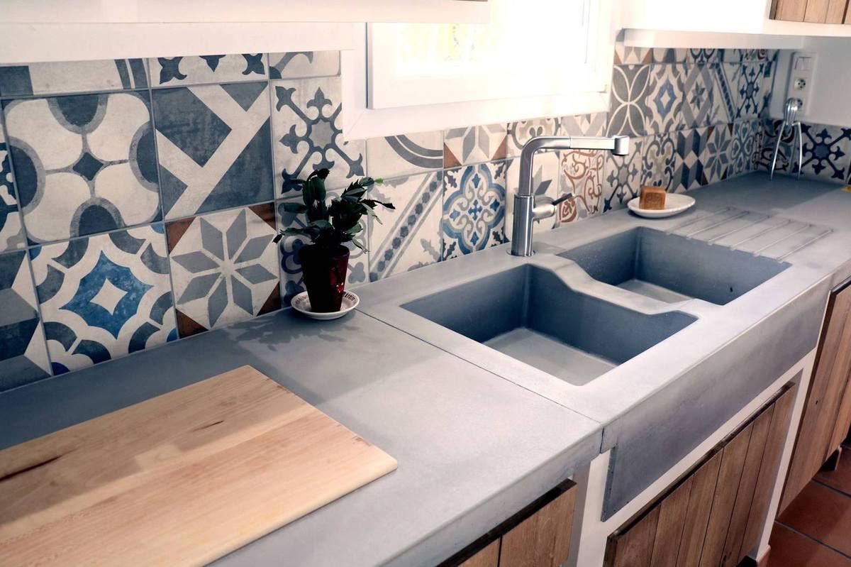 cuisine beton bfuhp ductal plan de travail beton cuisine. Black Bedroom Furniture Sets. Home Design Ideas