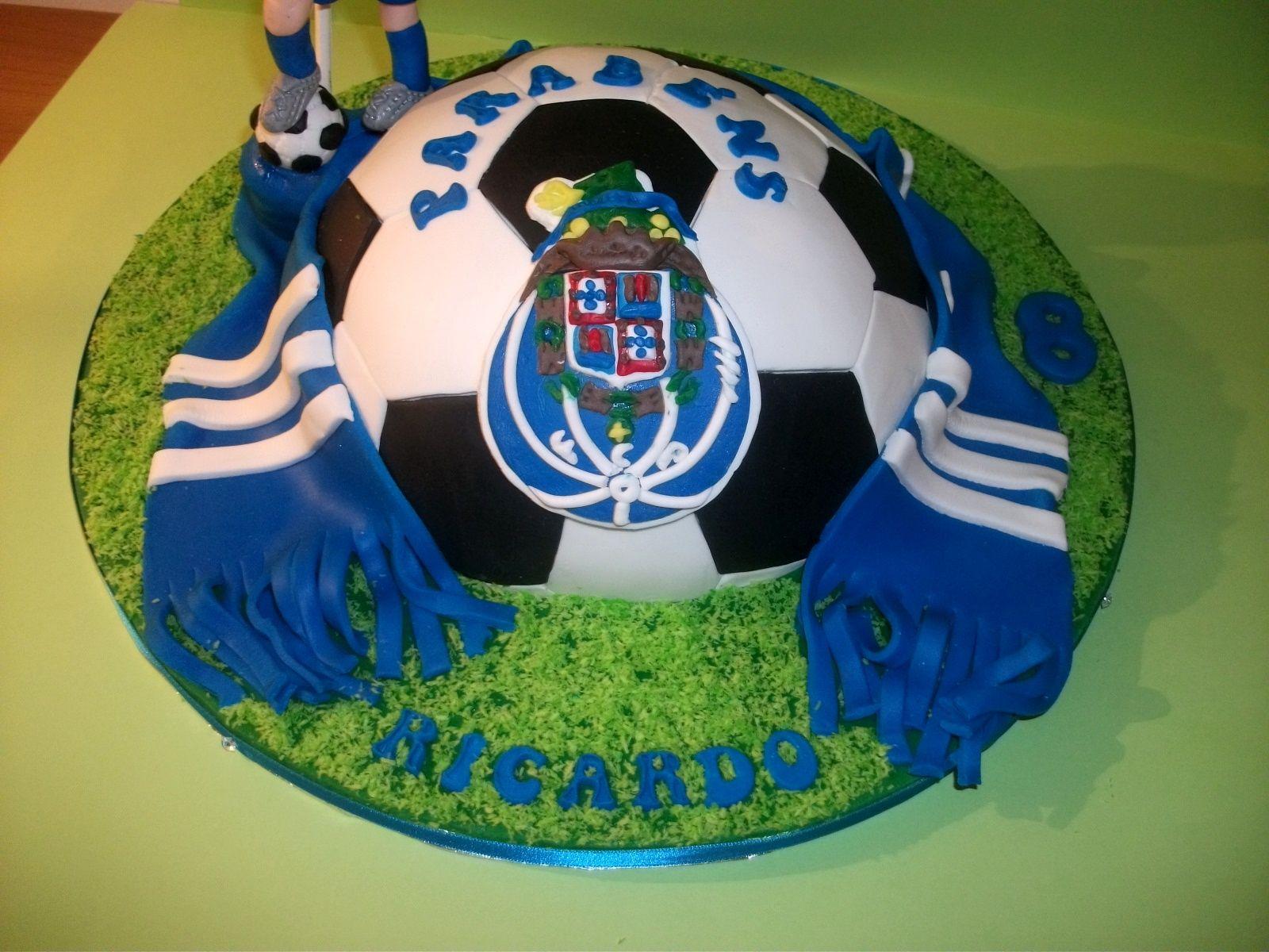 3f06c3d53fc2e Futebol clube do Porto cake Recheio De Chocolate