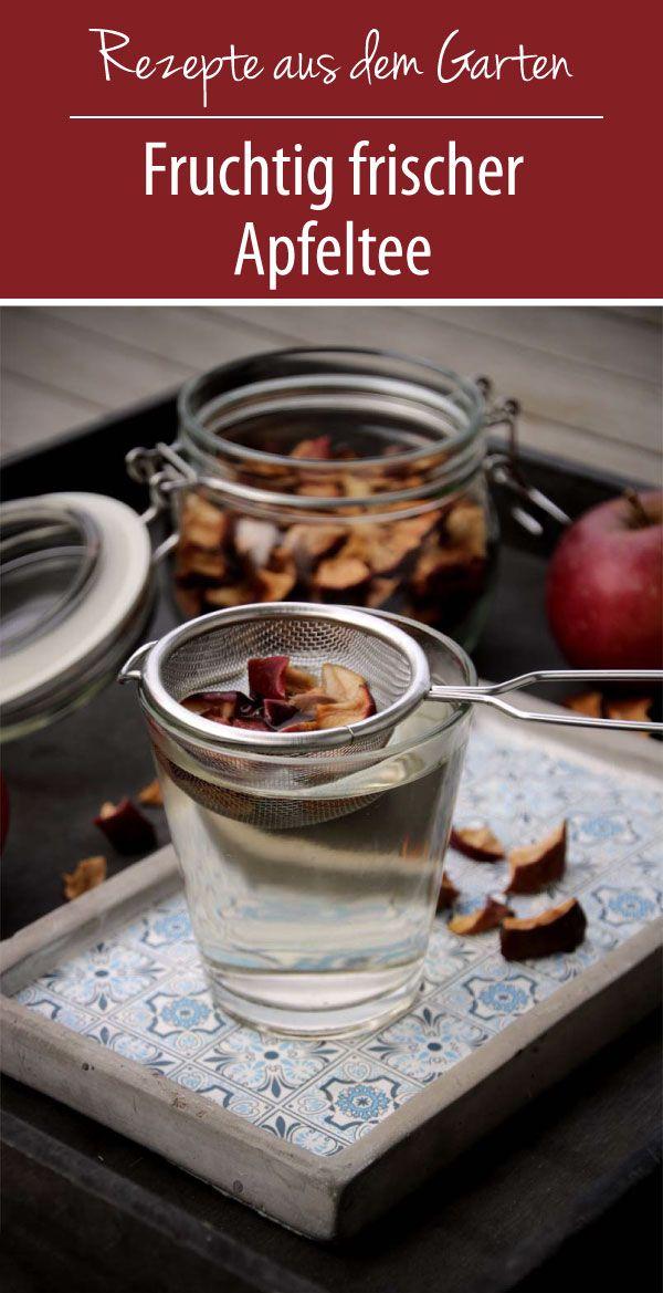 Fruchtig frischer Apfeltee | Rezepte aus dem Garten - grüneliebe