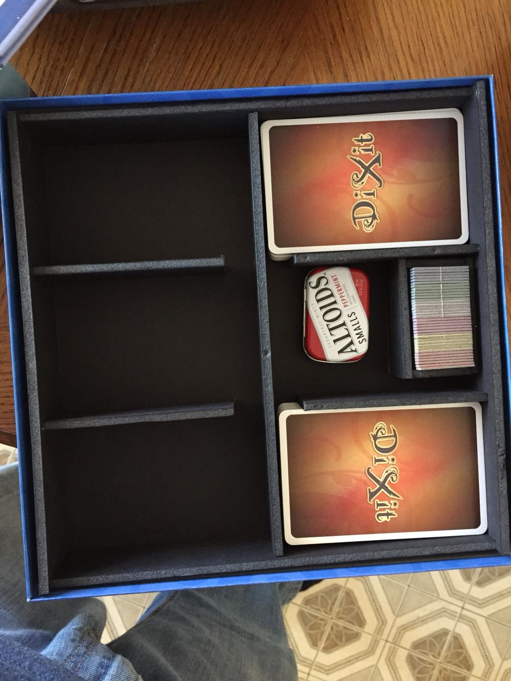Made room for my new dixit explanation