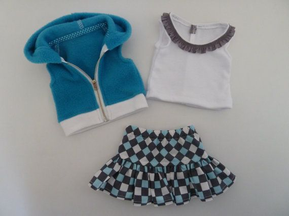American Girl Doll Clothes New Lollipop Kids by AccordingtoEmma