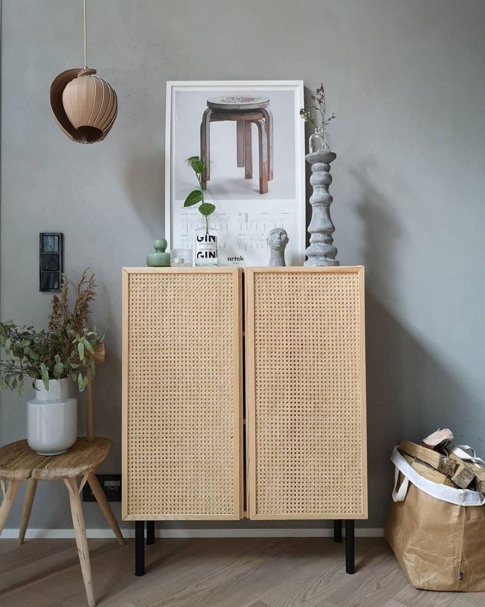 9 Seriously Stylish IKEA IVAR Cabinet Hacks, That Won't break the Bank! • Grillo Designs