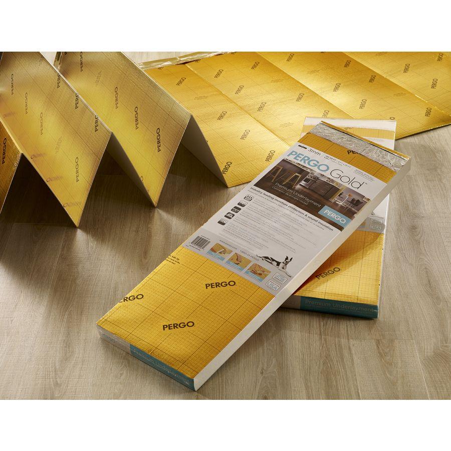Shop Pergo GOLD 100-sq Ft Premium 3mm Flooring