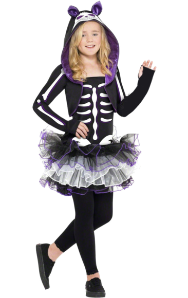 Cat costumes  sc 1 st  Pinterest & Teen Skeleton Cat Costume | Cats Costumes and Masquerades