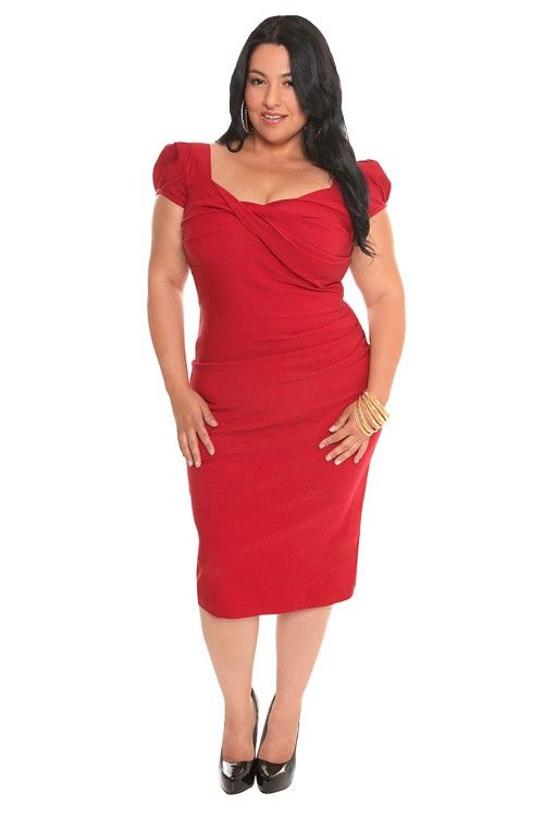 dbf43a885e8 Stop Staring! - Red Billion Dollar Baby Dress