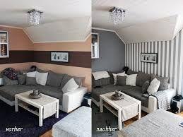 Bildergebnis Für Wohnzimmer Ziegelstein Tapete Braune Couch