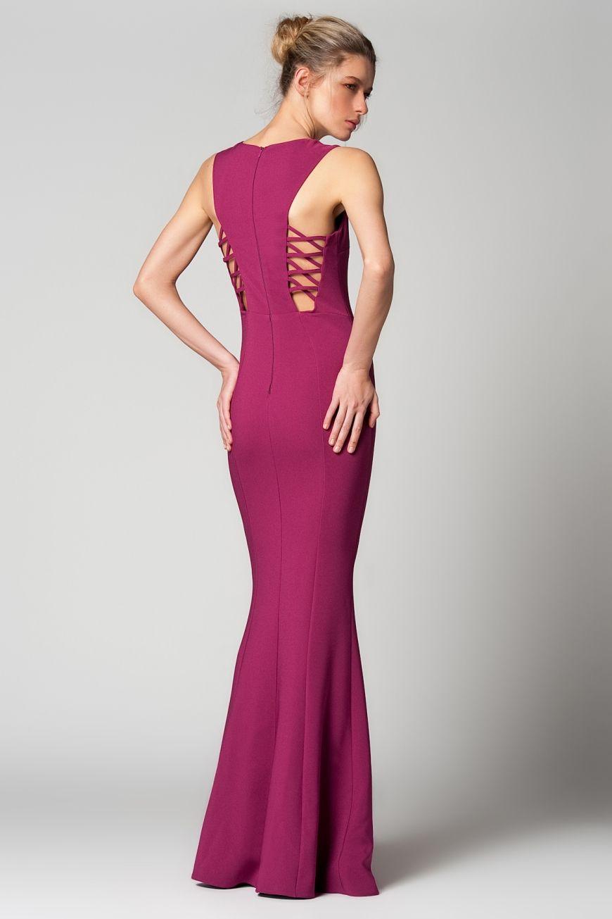 Milla By Trendyol Murdum Uzun Elbise Uzun Elbise Elbise The Dress
