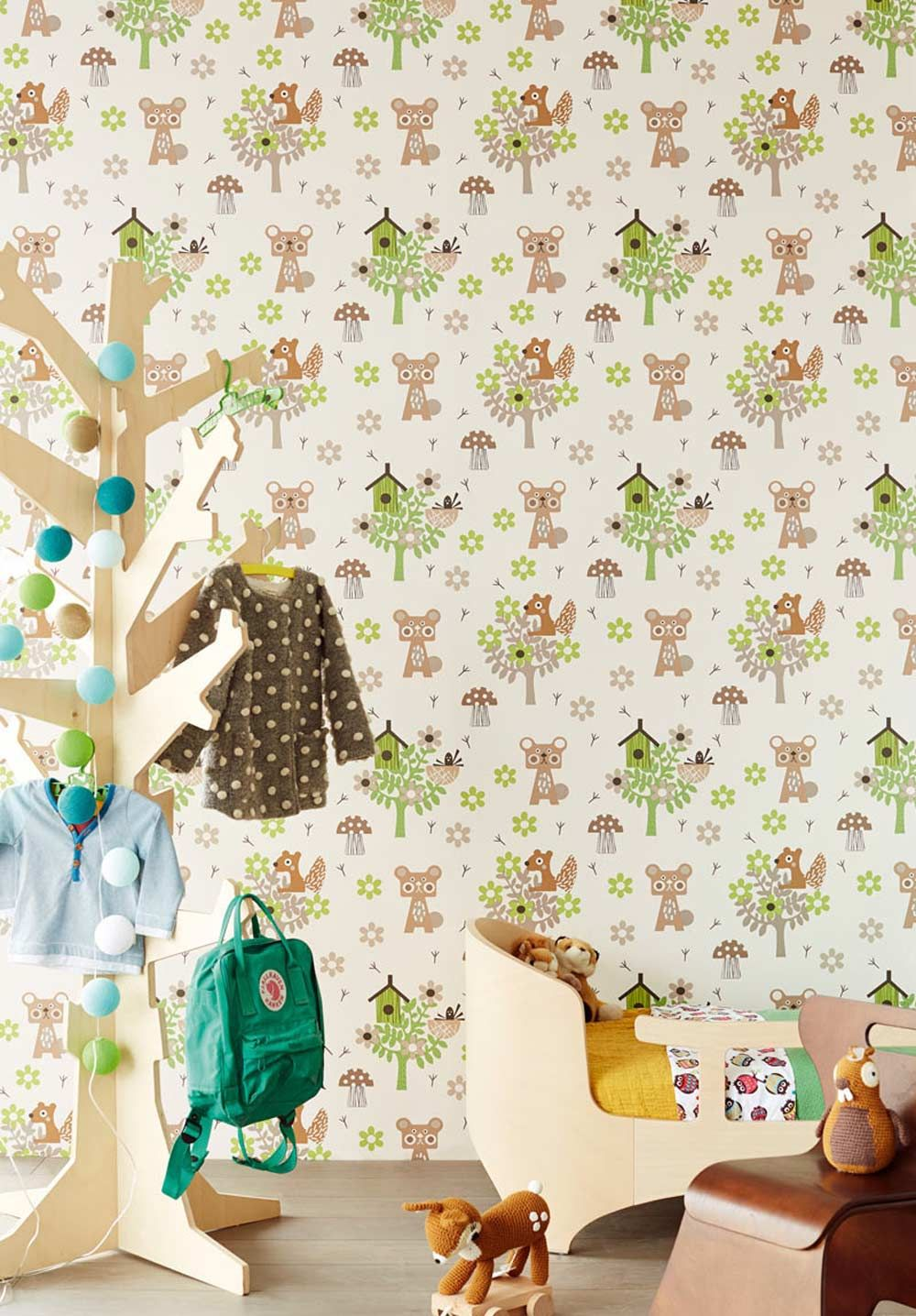tapete babyzimmer beautiful designer tapeten im abbildung. Black Bedroom Furniture Sets. Home Design Ideas