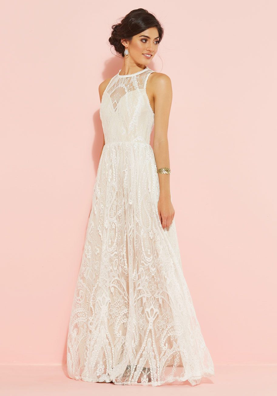 Ethereal Love Wedding Dress in White, #ModCloth | One day... | Pinterest