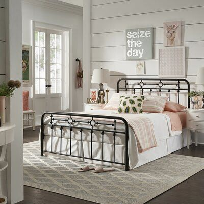 Laurel Foundry Modern Farmhouse Larry Platform Bed Size Queen In 2020 Adjustable Beds Guest Bedrooms
