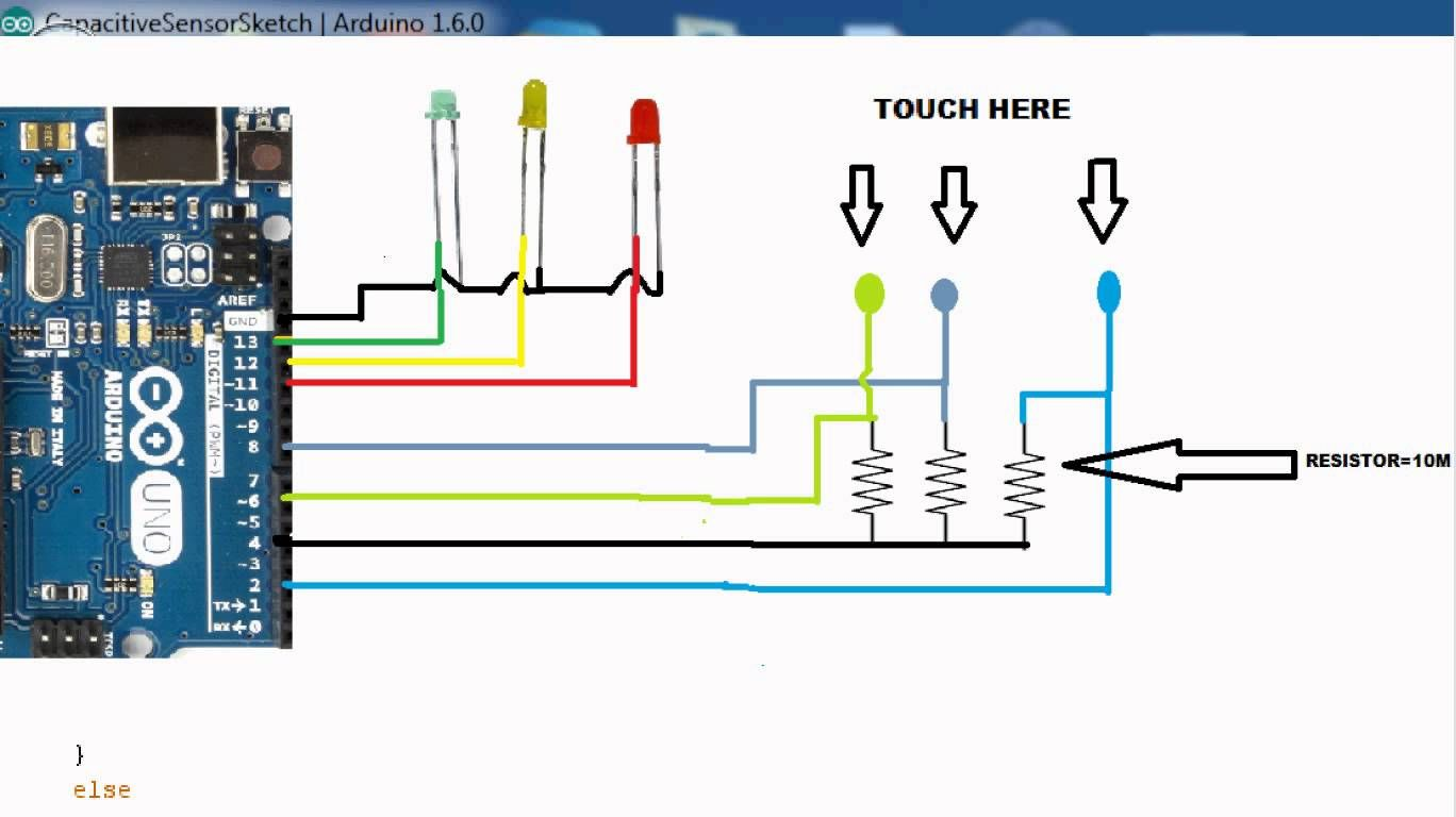 Capacitive Proximity Sensor Circuit Diagram - House Wiring Diagram ...