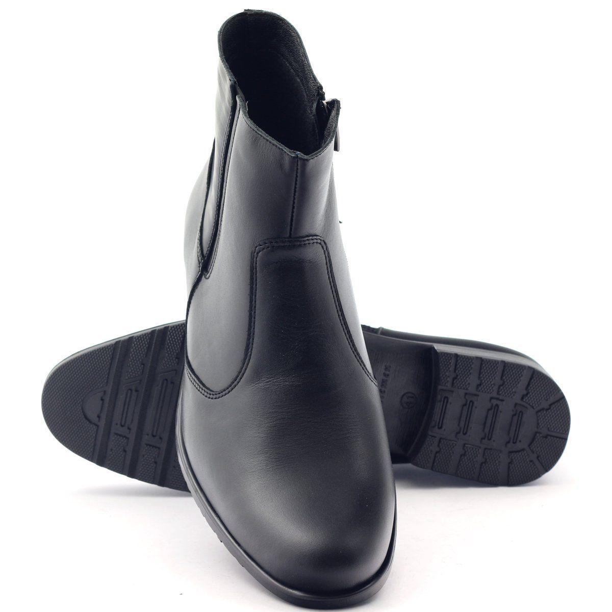 Botki Meskie Zimowe Tur 268 Czarne Shoes Dance Shoes Tap Shoes