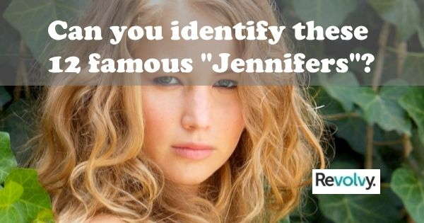 """Photo of Take the quiz """"Famous Jennifers"""" at www.Revolvy.com / …. Can you identify them …"""
