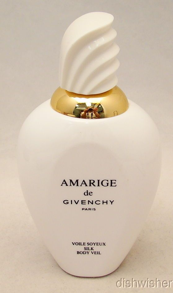 "6"" Amarige de Givenchy Silk Body Veil Factice Dummy Display Bottle x Perfume 