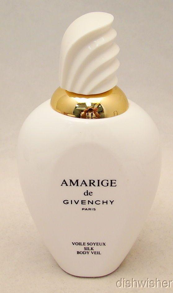 "6"" Amarige de Givenchy Silk Body Veil Factice Dummy Display Bottle x Perfume   eBay"