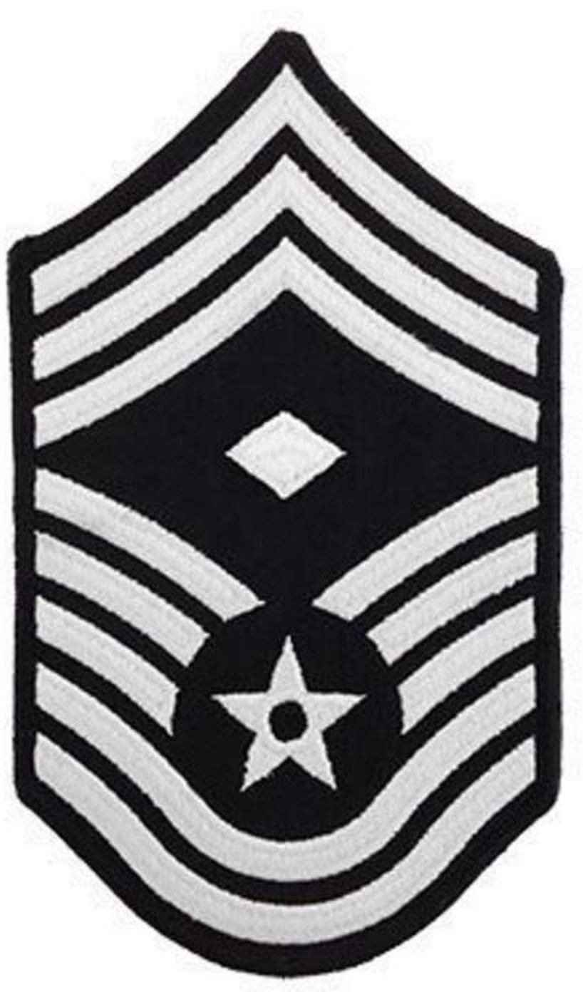 AIR FORCE CHEVRON CHIEF MASTER SERGEANT 1ST SGT SMALL