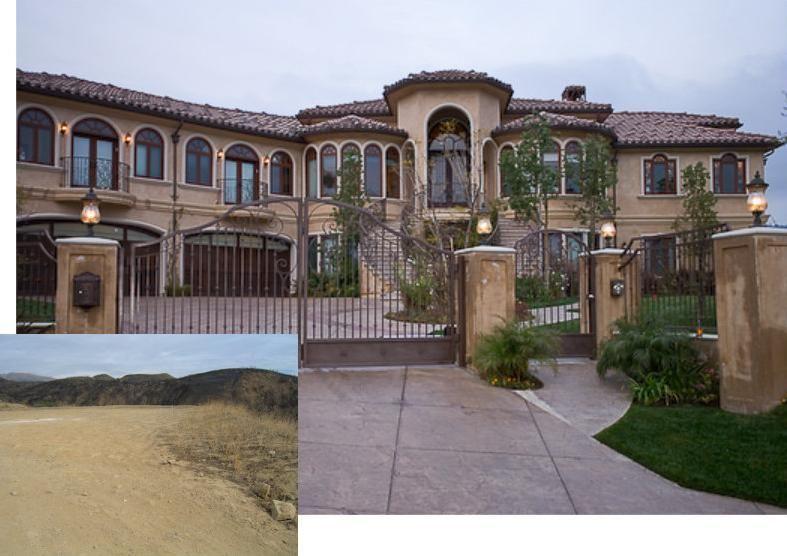 luxury home builders california