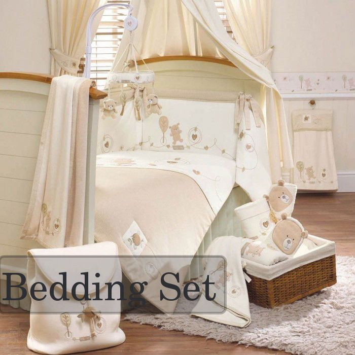 Natures Purest Hug Me Bear 4 Piece Bedding Set Baby Bed Baby Bedding Sets Bed