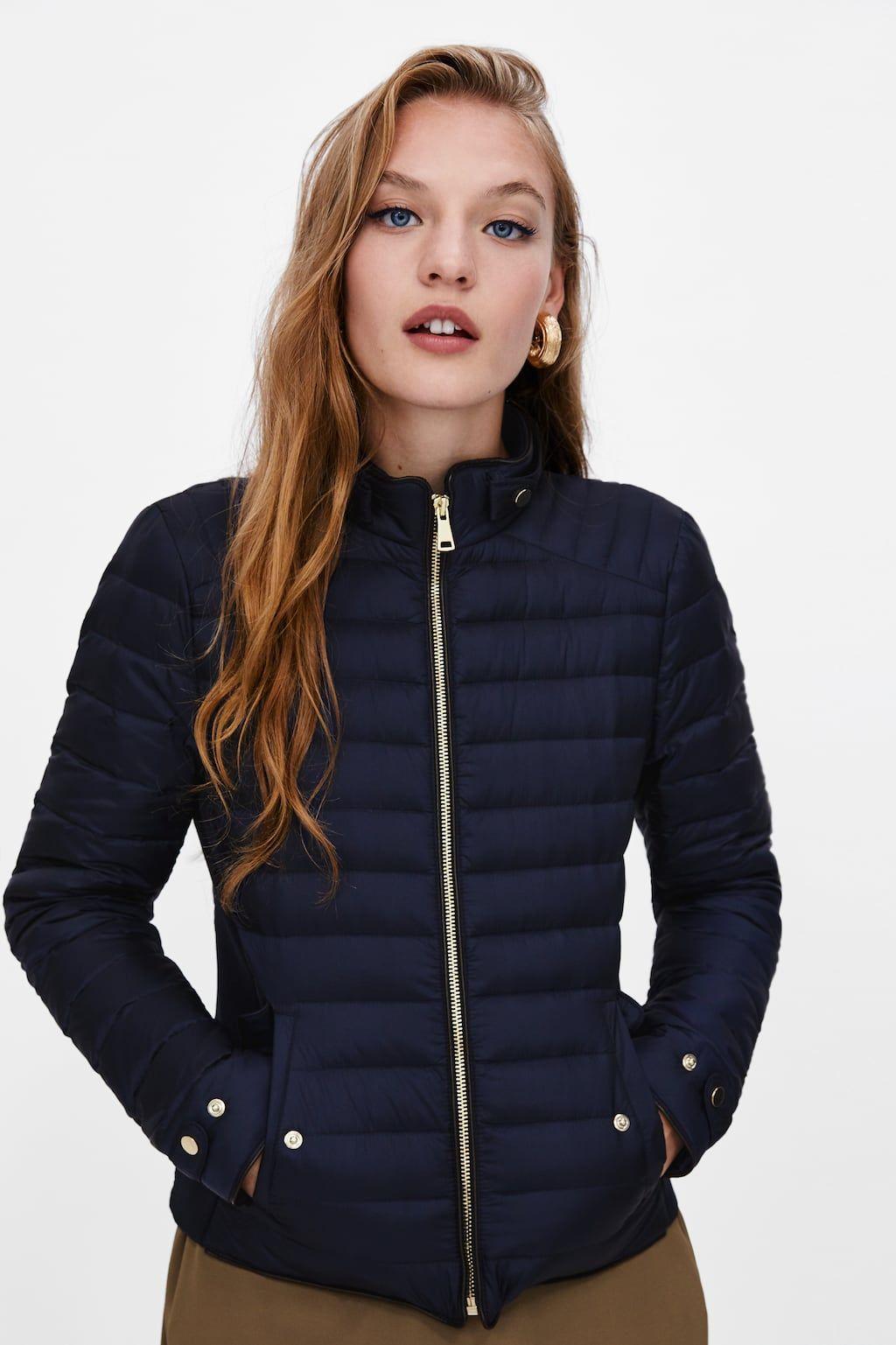 Image 4 Of Lightweight Down Puffer Jacket From Zara Puffer Jacket Women Blue Jackets Outfits Jackets Men Fashion [ 1537 x 1024 Pixel ]