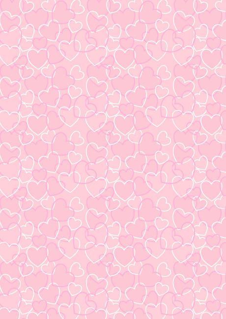 Valentine Heart Background Valentine S Day Scrapbook Paper Pink