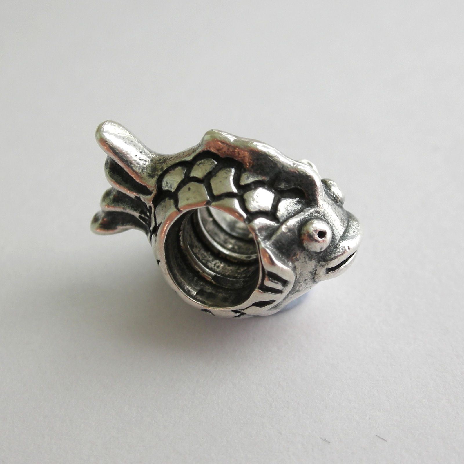 pandora charms | AUTHENTIC PANDORA Sterling Silver 'HAPPY FISH' Charm  790392 ***