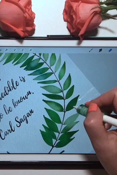 Photo of Free iPad Procreate watercolor brush and tutorial