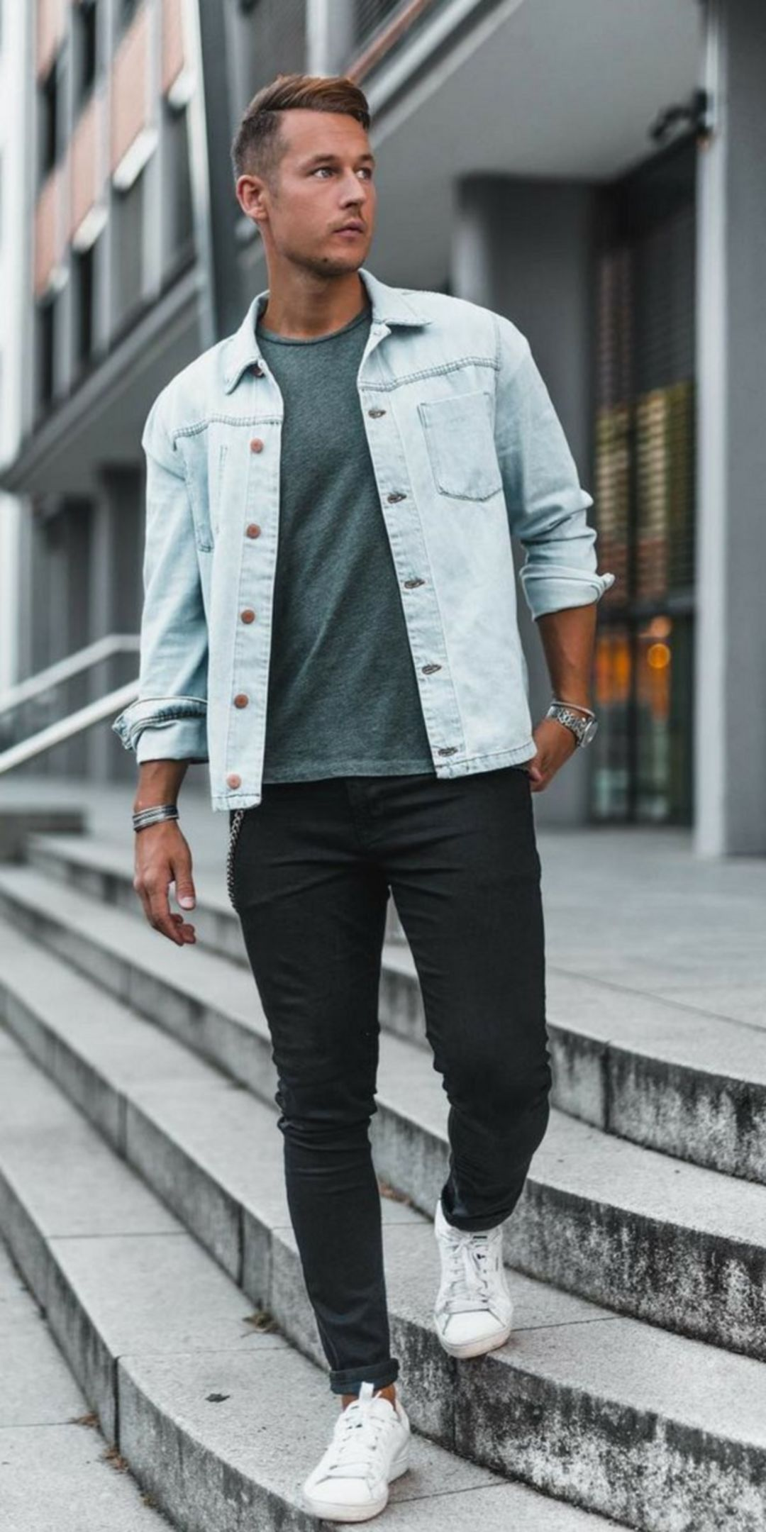 31+ Denim jacket with black jeans ideas info