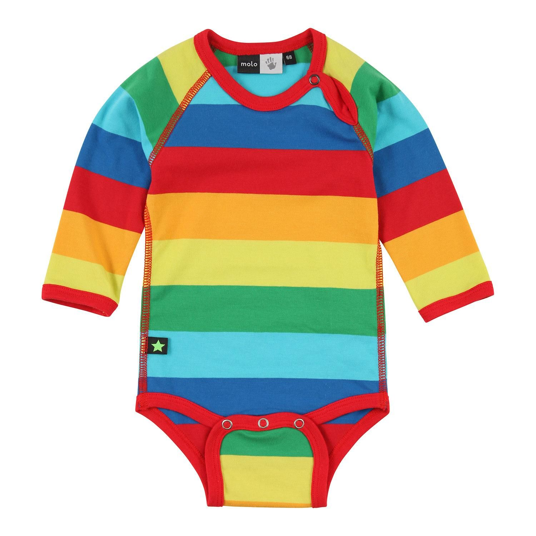 Molo rainbow stripe bodysuit