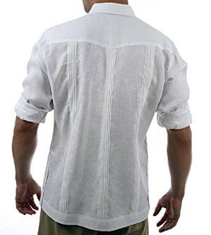 Mens Long Sleeve Guayabera Linen Shirts Nyc This Is More