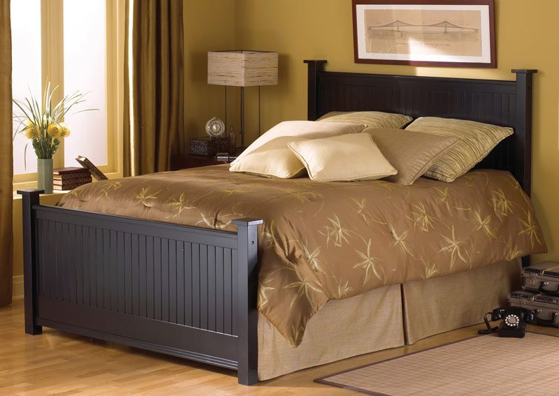 Beautiful wood bed Bed Pinterest Wood beds and Woods