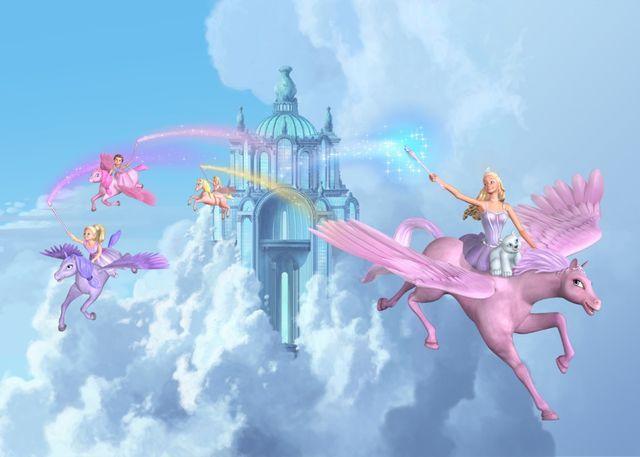 Barbie And The Magic Of Pegasus Official Stills Barbie Filmes
