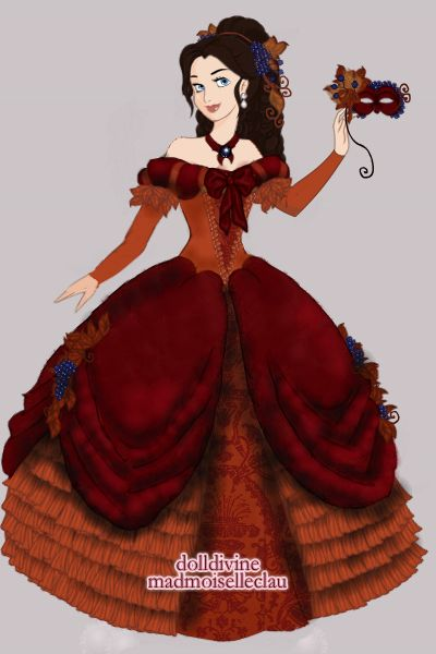 Fall Masquerade By Foliabelladonna Created Using The Princess