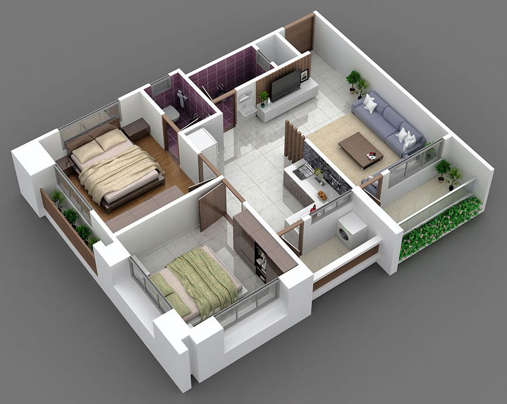 bhk house plan minimalist interior home my design also best build idea images in tiny plans apartments rh pinterest