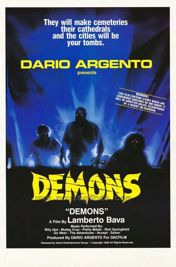 Demons ~~ directed by Lamberto Bava