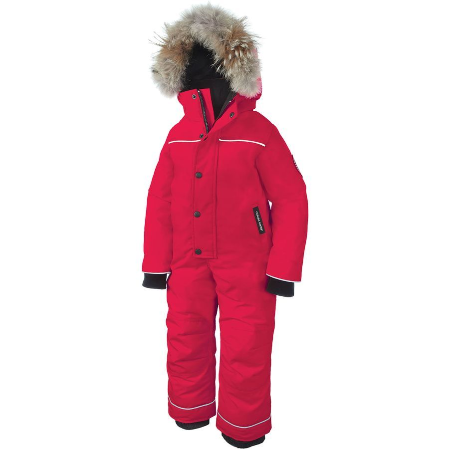 ff77fc204 Canada Goose - Grizzly Down Snow Suit - Toddler Girls  - Torch ...