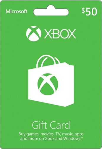 Microsoft - Xbox $50 Gift Card | Products I Want (aka my wish list