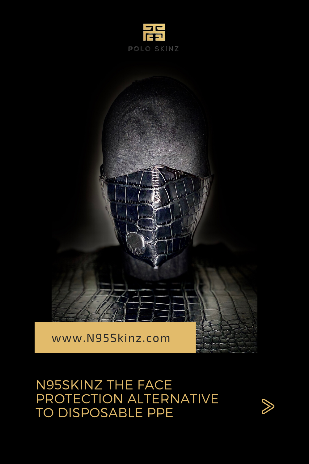 N95Skinz Respirator face mask eco friendly PPE in 2020