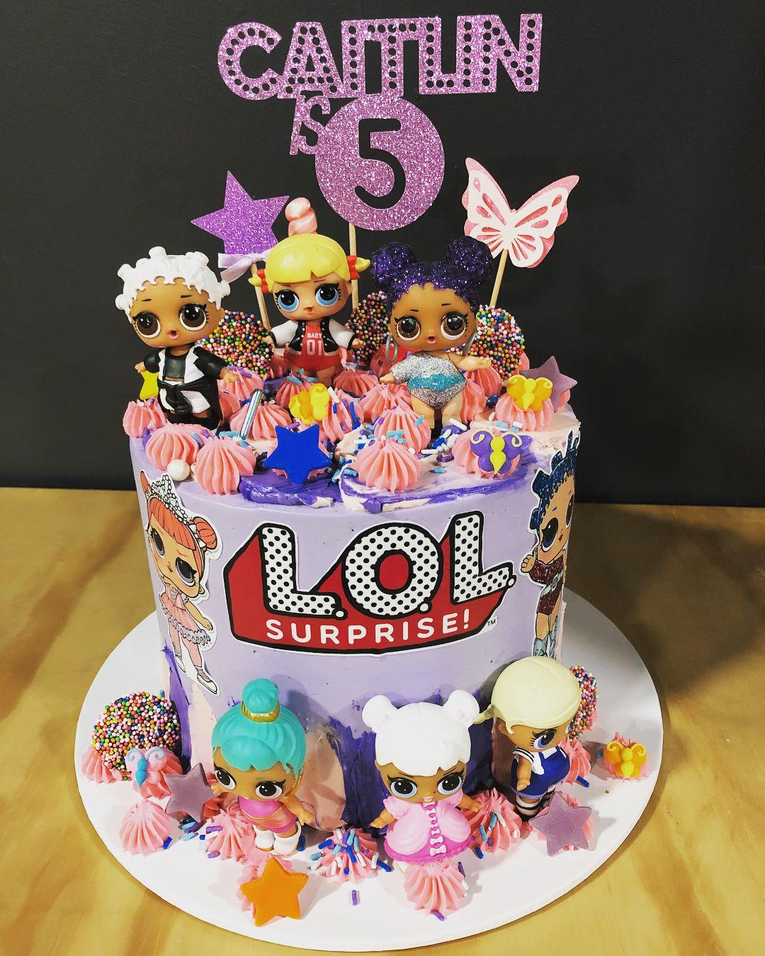 Matilda S 5th Birthday Doll Birthday Cake Funny Birthday Cakes 5th Birthday Cake