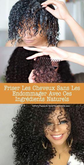 Friser les cheveux sans les endommager avec ces