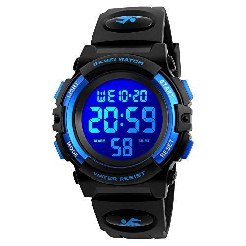 Shop #Kids #Watch #for #Boys #Girl #Sports #Waterproof #7 #Colors #LED #Light #Wrist #Watches #with #Alarm #Clock #Stopwatch #Calendar #Outdoor #Blue. #Explore #our #Boys #Fashion #section #featuring #new ##shopping #ideas #of #the #best #collection #of # ##BoysFashion ##BoysWatches #and # #sportswatches