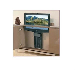 Television pop up or motorized screens hafele motorized for Motorized tv lift with swivel