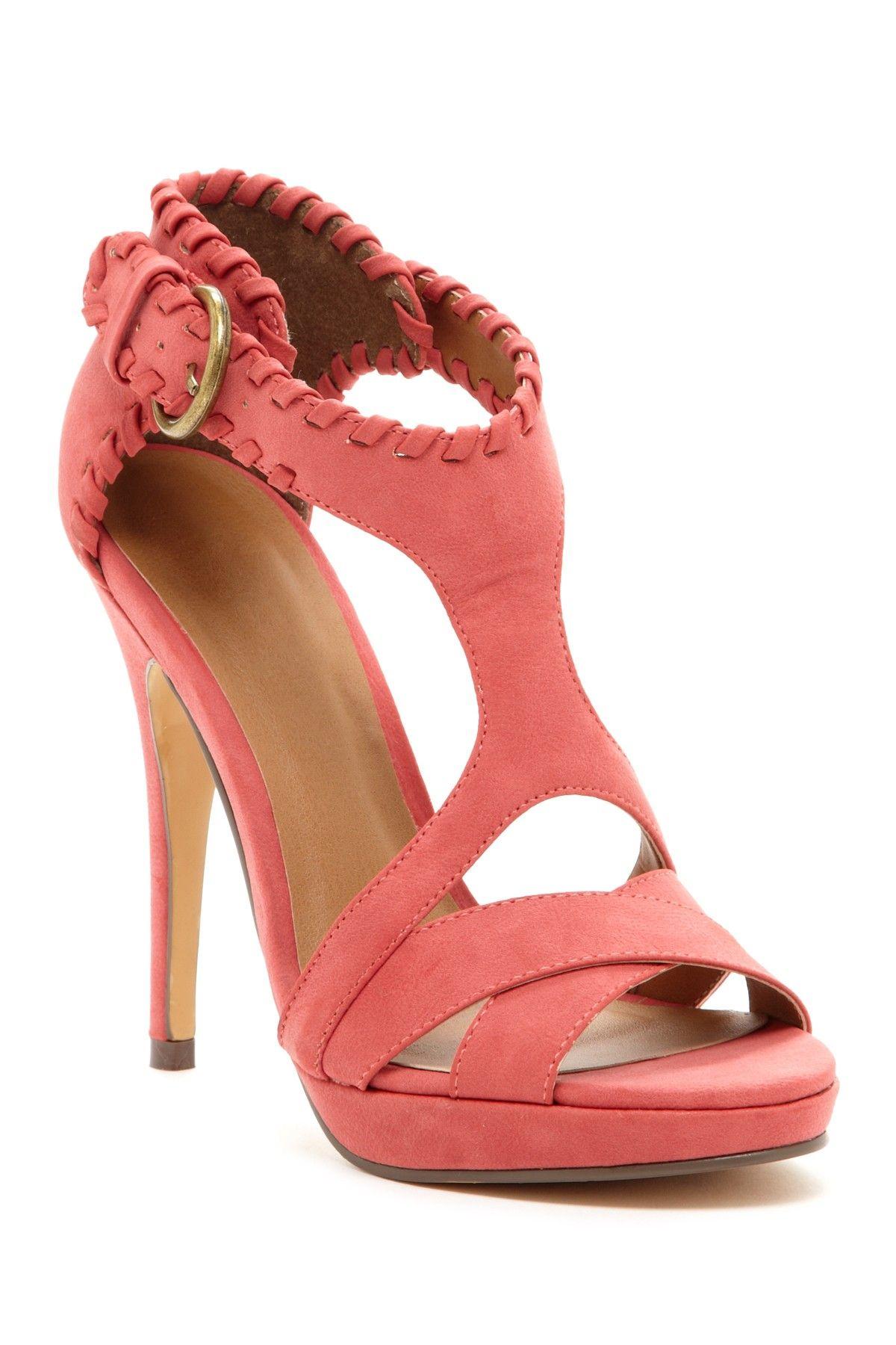 Michael Antonio Tanaka Cutout Detail Platform Sandal
